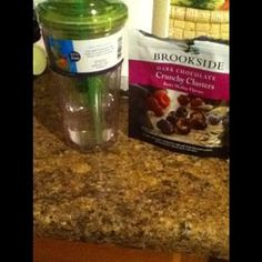 brookside crunchy clusters w/lime infused water #perfectpair #discoverbrookside #crowdtap #sponsored
