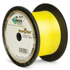 Power Pro Super 8 Slick Braid 80lb 1500 yards Yellow * Click on the image for additional details.