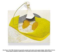 Eva Hesse lamp or upholstry for chair, 1965