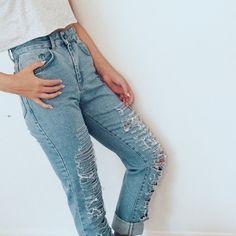 fre h the ragged priest jeans!!    insta  liv.taras x. Ragged PriestHigh  Waist ... 4397769020d