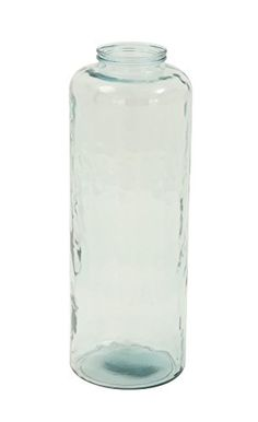 Deco 79 18216 Glass Tall Vase 10 x 28 >>> To view further for this item, visit the image link.