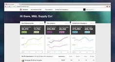 Profile and Audience data dashboard by Pinterest