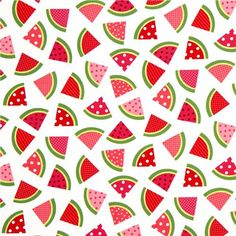 white watermelon fruit fabric de Robert Kaufman 2