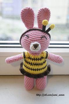Мисс Джем: Зайка Лолипоп в костюме пчелы