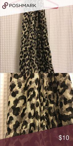Leopard print scarf Leopard print scarf. Never worn. Accessories Scarves & Wraps