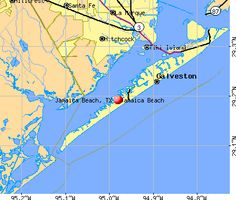 Galveston Beach Map Places To Visit Pinterest Galveston - Map of southern texas