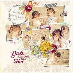 Page made by Julie using Photo Addict #05 | Templates by Akizo Designs (Digital Scrapbooking layout)