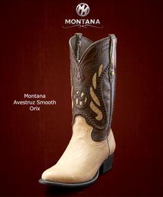#Montana #Botas #Montana #AvestruzSmooth #Modelo MN203A2 #Color Orix #MontanaisBack