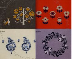 Higuchi Yumiko Small Goods and 2 Colors Embroideries by PinkNelie