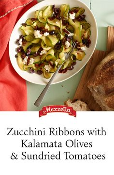 Mezzetta kalamata olives and sundried tomatoes with creamy ricotta ...