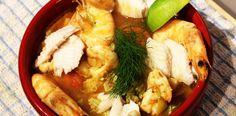 """Supa de peste. O supa in stil frantuzesc """"bouillabaisse""""."""