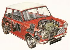 Classic Mini Cut-Away: the Essence of Simplicity - MotoringFile