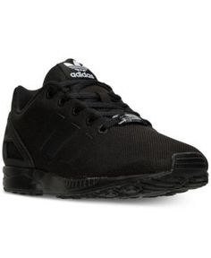 uk availability d03b5 89ef3 adidas Big Boys  Zx Flux Casual Sneakers from Finish Line - Black 4.5 Kids  Sneakers