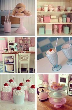 Pastel kitchen. ♡