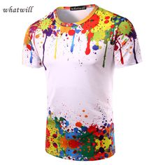 New 2017 mens t shirt fitness 3D printed t-shirts tshirt homme casual camisetas fashion tops & tees brand clothing