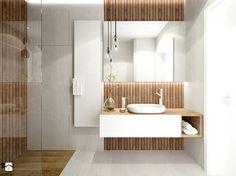 Mieszkanie w Gliwicach_ 65m2 - Średnia łazienka - zdjęcie od superpozycja architekci