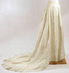 early 1870s Petticoat