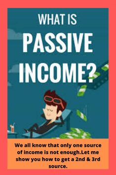 Learn about opportunities  to earn passive income from the comfort of your own home business.A second source of income is easier than you think.Affluent people build wealth through different forms of passive income.    #makemoneyonline #workingonline #websitetips #moneyonline #marketingideas #onlinebusinessideas #sellingstuffonline #onlinebusiness #sellingonline #onlineworking #businessmarketing #onlinemarketer #marketingstrategies #howtogetmoney #boogformoney #thingstodotomakemoney…