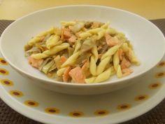 Pasta+con+carciofi+e+salmone+affumicato