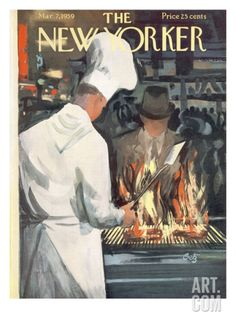 The New Yorker Cover - March 7, 1959 Regular Giclee Print by Arthur Getz at Art.com