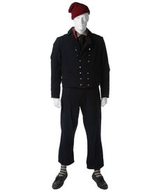 BRITISH ROYAL NAVY SAILOR'S COLD WEATHER CLOTHING | Eastern Costume : A Motion Picture Wardrobe