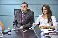 Talking with Rick Hoffman and Meghan Markle of USA's Suits - TV News on TheTvKing.com