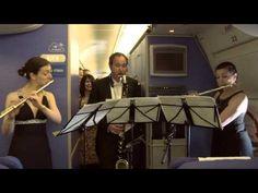Royal Concertgebouw Orchestra gives unique concert aboard KLM flight