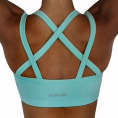 Endurance Bra - Mint Blue these are seriously the cutest sports bras!