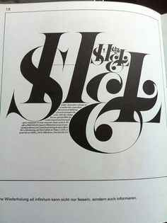This is pretty. I love the boldness of the letters and the use of serifs.