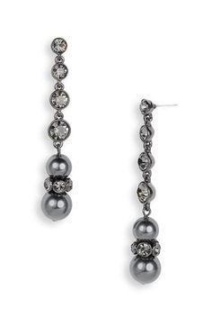 Givenchy 'Aqua' Linear Glass Pearl Earrings | Nordstrom, $48.00