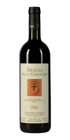 Brania delle Ghiandaie Colline Lucchesi Rosso (Vineyards Colle Verde)