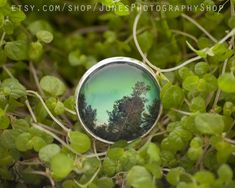 The ring is adjustable. Photo is glued with glass tile on top. The photograph is taken at Balsfjord, Norway in Keep away from water! Star Photography, Nature Photography, Holidays In Norway, Light Ring, Yellow Flowers, Northern Lights, Rings, Jewelry, Jewlery