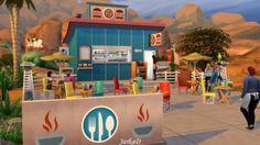 Maxis Bistro at JarkaD Sims 4 Blog • Sims 4 Updates