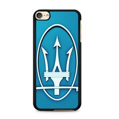 Maserati Logo Blue For Ipod Touch 6 Case