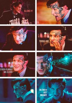 Nightmare in Silver. I loved Mr. Clever! This really makes me want to see Matt Smith play a villain :D<<< one actor played 2 mad men best actor ever :)