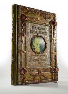 Frankenstein ring binder cover... by alexlibris999 on DeviantArt