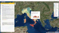 Italia – Incendi boschivi dal 2009 a maggio 2016