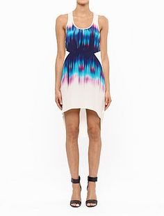 JASU | Fashion Style Universe | Shop Suboo Online here | Vacation | Frequency Print Singlet Dress