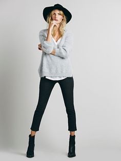 Free People Mod Side Zip High Rise at Free People Clothing Boutique