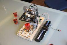 Самодельный 3D-принтер: CD-привод, чернила, пищевое желе и немного фантазии | http://3dpmake.com/news/54-jello-3dprinter