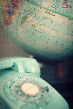 #world #phone #pastel