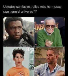 Avengers Memes, Marvel Memes, Triste Disney, Funny Quotes, Funny Memes, Cameron Boyce, Cute Disney, Stupid Funny, Cool Photos