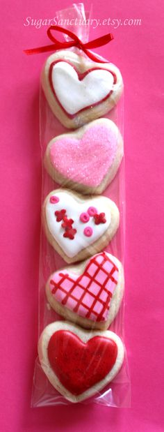valentines day cookies! Inspiration for my iced cut out brownies