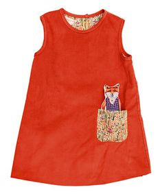 This Red Fox Pocket Jumper - Infant, Toddler & Girls is perfect! #zulilyfinds
