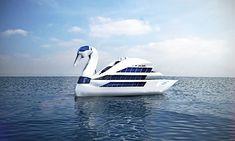 white P. :)  Designer-Millionär Vasily Klyukin entwirft Super-Yachten | KlonBlog