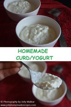 Curd is an important accompaniment to Indian food and no meal is complete without Dahi/curd at our home whether we used as is or in the form of raita's.