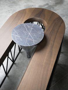 "Coffee table ""Exo"", Grégoire de Lafforest - Furniture - Edition Galerie Gosserez"