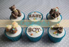 Резултат с изображение за baby boy cupcakes