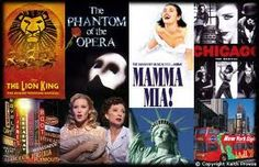 Go see many broadway plays