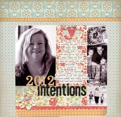 1 2012 Intentions